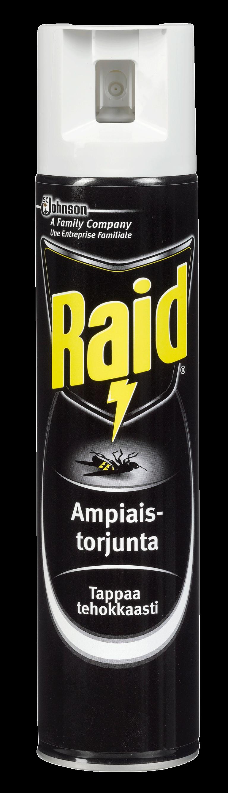 Ampiaistorjunta ja ampiaiskarkotin Raid